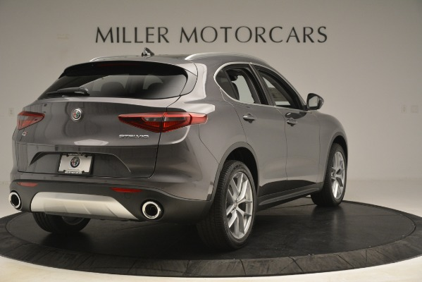 New 2019 Alfa Romeo Stelvio Ti Lusso Q4 for sale Sold at Bentley Greenwich in Greenwich CT 06830 7