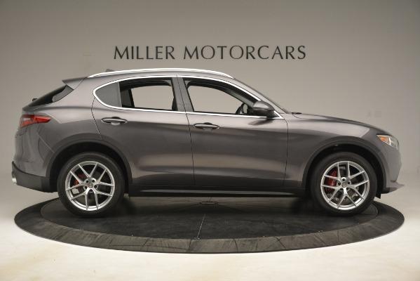 New 2019 Alfa Romeo Stelvio Ti Lusso Q4 for sale Sold at Bentley Greenwich in Greenwich CT 06830 9