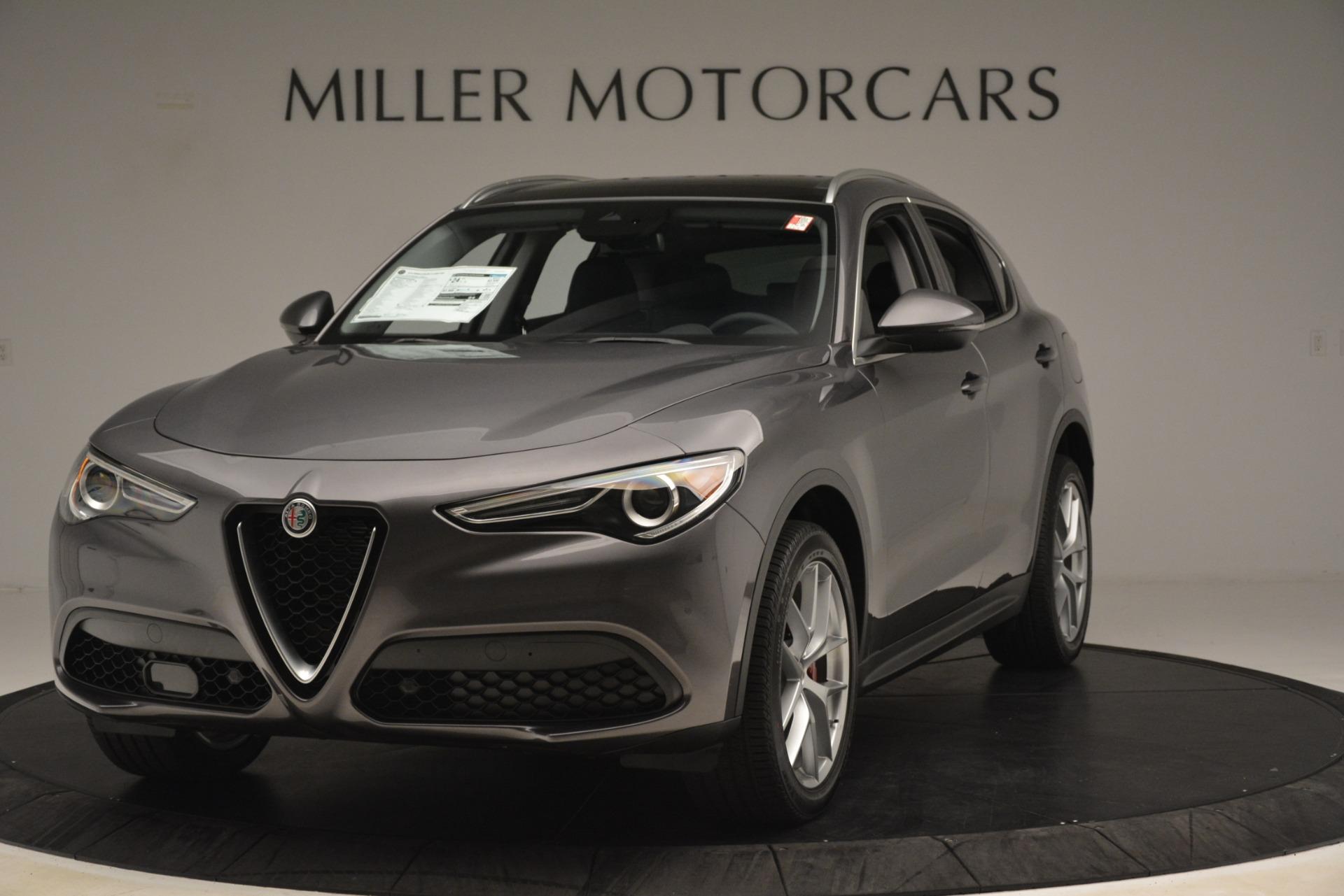 New 2019 Alfa Romeo Stelvio Ti Lusso Q4 for sale Sold at Bentley Greenwich in Greenwich CT 06830 1