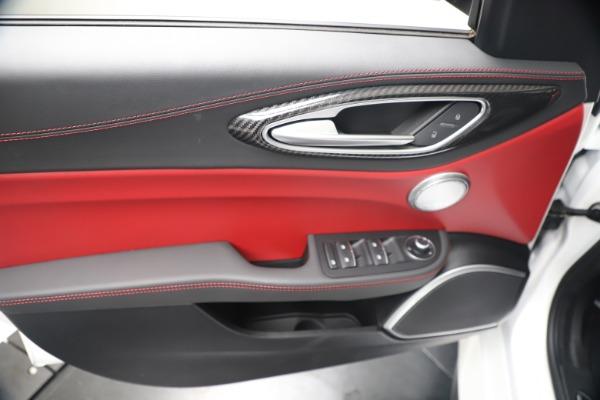 New 2019 Alfa Romeo Giulia Quadrifoglio for sale Sold at Bentley Greenwich in Greenwich CT 06830 17