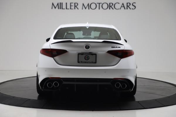 New 2019 Alfa Romeo Giulia Quadrifoglio for sale Sold at Bentley Greenwich in Greenwich CT 06830 6