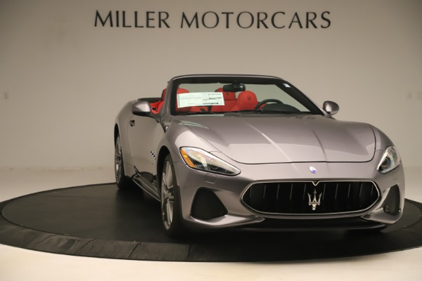 New 2018 Maserati GranTurismo Sport Convertible for sale $159,740 at Bentley Greenwich in Greenwich CT 06830 11