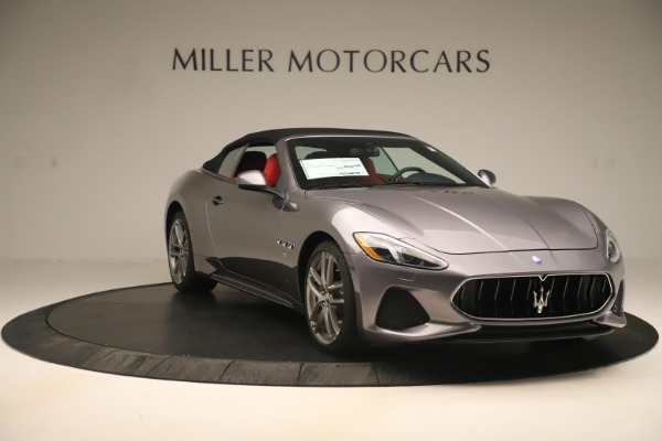 New 2018 Maserati GranTurismo Sport Convertible for sale $159,740 at Bentley Greenwich in Greenwich CT 06830 18