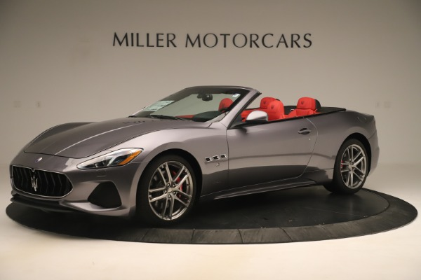 New 2018 Maserati GranTurismo Sport Convertible for sale $159,740 at Bentley Greenwich in Greenwich CT 06830 2