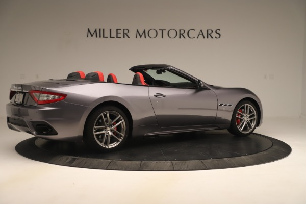 New 2018 Maserati GranTurismo Sport Convertible for sale $159,740 at Bentley Greenwich in Greenwich CT 06830 8