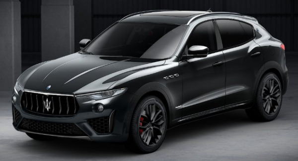 New 2019 Maserati Levante SQ4 GranSport Nerissimo for sale Sold at Bentley Greenwich in Greenwich CT 06830 1