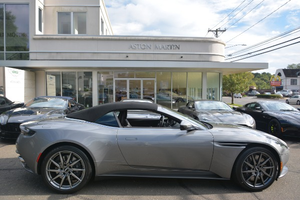 New 2019 Aston Martin DB11 V8 Convertible for sale Sold at Bentley Greenwich in Greenwich CT 06830 27
