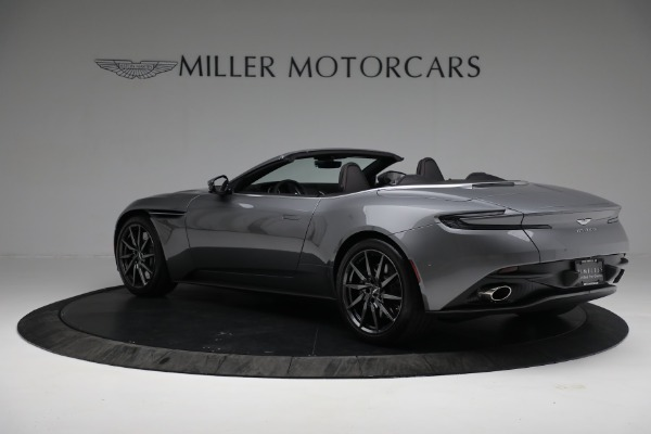 New 2019 Aston Martin DB11 V8 Convertible for sale Sold at Bentley Greenwich in Greenwich CT 06830 4