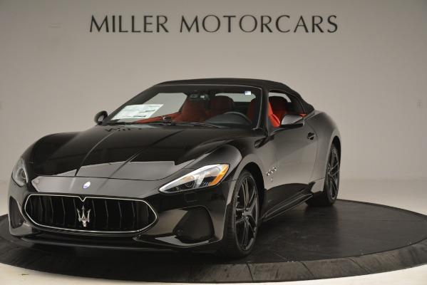 New 2018 Maserati GranTurismo Sport Convertible for sale Sold at Bentley Greenwich in Greenwich CT 06830 2