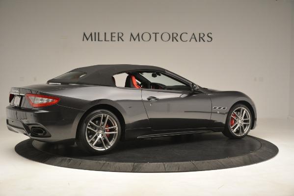 New 2018 Maserati GranTurismo Sport Convertible for sale Sold at Bentley Greenwich in Greenwich CT 06830 16