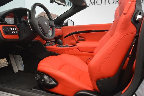 New 2018 Maserati GranTurismo Sport Convertible for sale Sold at Bentley Greenwich in Greenwich CT 06830 26