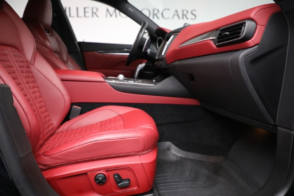 New 2019 Maserati Levante S Q4 GranSport for sale Sold at Bentley Greenwich in Greenwich CT 06830 22
