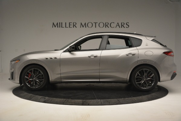 New 2019 Maserati Levante SQ4 GranSport Nerissimo for sale Sold at Bentley Greenwich in Greenwich CT 06830 3