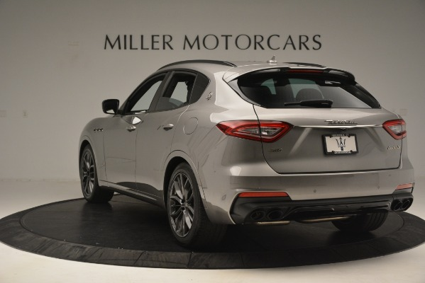 New 2019 Maserati Levante SQ4 GranSport Nerissimo for sale Sold at Bentley Greenwich in Greenwich CT 06830 5