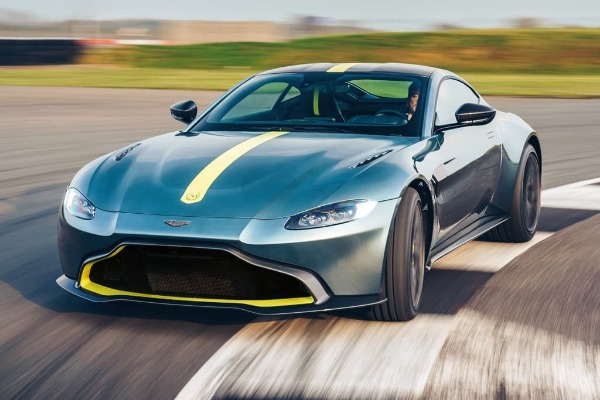 New 2020 Aston Martin Vantage AMR Coupe for sale Sold at Bentley Greenwich in Greenwich CT 06830 1