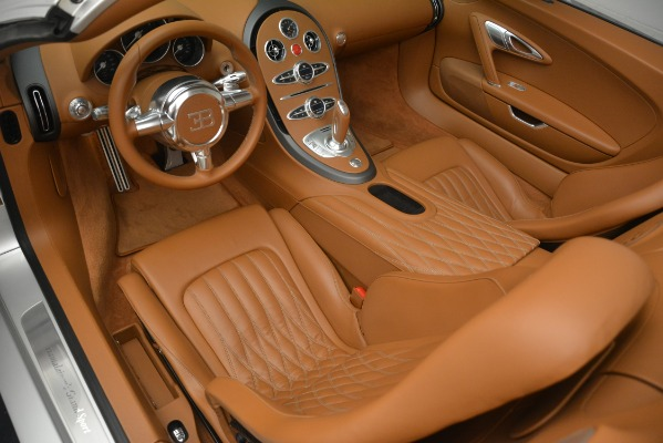 Used 2010 Bugatti Veyron 16.4 Grand Sport for sale Sold at Bentley Greenwich in Greenwich CT 06830 23