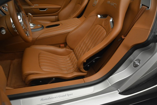 Used 2010 Bugatti Veyron 16.4 Grand Sport for sale Sold at Bentley Greenwich in Greenwich CT 06830 25
