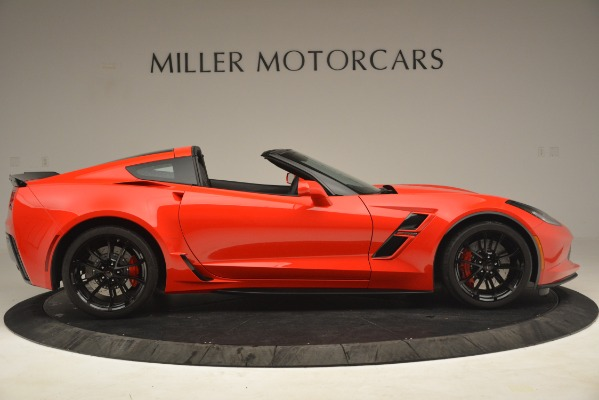 Used 2019 Chevrolet Corvette Grand Sport for sale Sold at Bentley Greenwich in Greenwich CT 06830 9