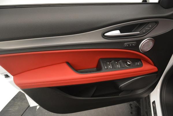 New 2019 Alfa Romeo Stelvio Ti Sport Q4 for sale Sold at Bentley Greenwich in Greenwich CT 06830 15
