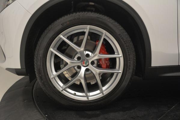 New 2019 Alfa Romeo Stelvio Ti Sport Q4 for sale Sold at Bentley Greenwich in Greenwich CT 06830 28