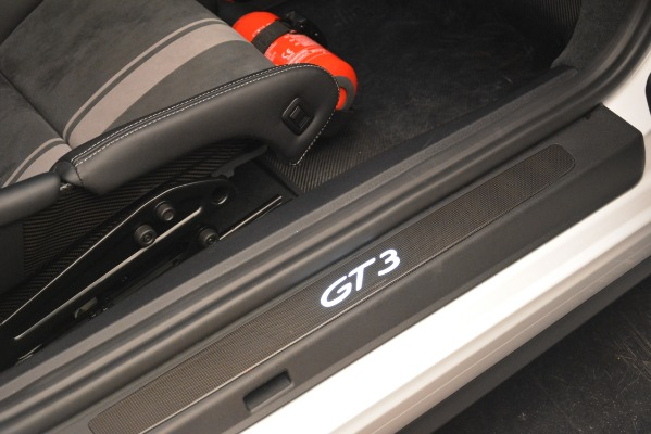 Used 2018 Porsche 911 GT3 for sale Sold at Bentley Greenwich in Greenwich CT 06830 14