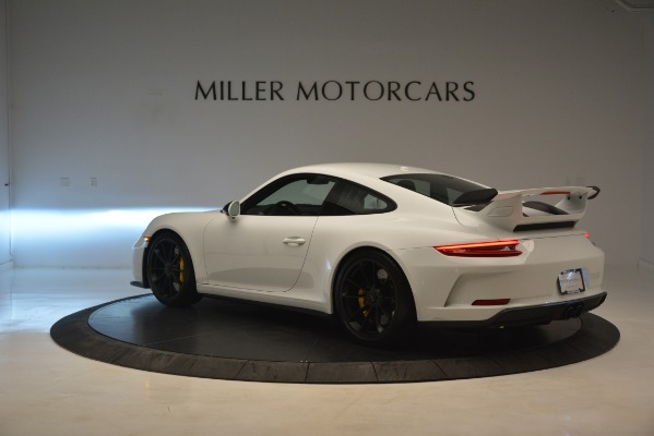 Used 2018 Porsche 911 GT3 for sale Sold at Bentley Greenwich in Greenwich CT 06830 3
