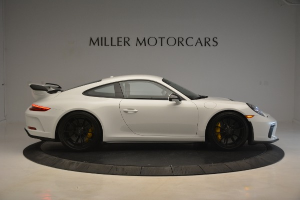 Used 2018 Porsche 911 GT3 for sale Sold at Bentley Greenwich in Greenwich CT 06830 7
