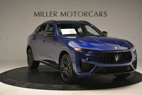 New 2019 Maserati Levante SQ4 GranSport Nerissimo for sale Sold at Bentley Greenwich in Greenwich CT 06830 11