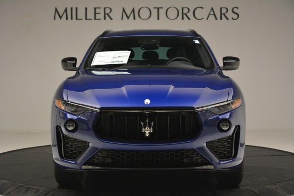 New 2019 Maserati Levante SQ4 GranSport Nerissimo for sale Sold at Bentley Greenwich in Greenwich CT 06830 12