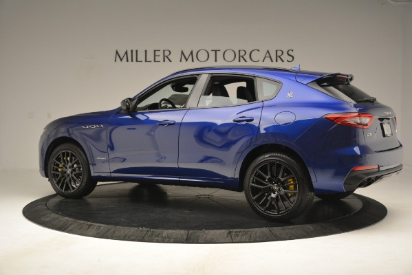 New 2019 Maserati Levante SQ4 GranSport Nerissimo for sale Sold at Bentley Greenwich in Greenwich CT 06830 4