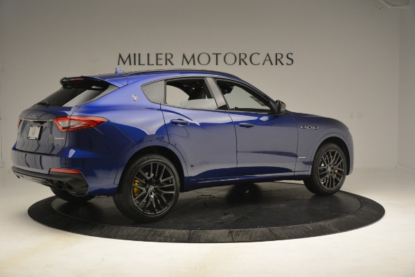 New 2019 Maserati Levante SQ4 GranSport Nerissimo for sale Sold at Bentley Greenwich in Greenwich CT 06830 8
