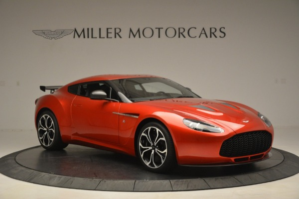 Used 2013 Aston Martin V12 Zagato Coupe for sale Call for price at Bentley Greenwich in Greenwich CT 06830 10