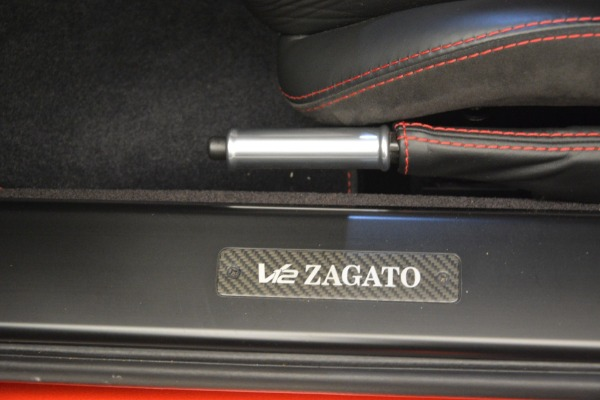 Used 2013 Aston Martin V12 Zagato Coupe for sale Call for price at Bentley Greenwich in Greenwich CT 06830 16