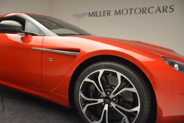 Used 2013 Aston Martin V12 Zagato Coupe for sale Call for price at Bentley Greenwich in Greenwich CT 06830 22