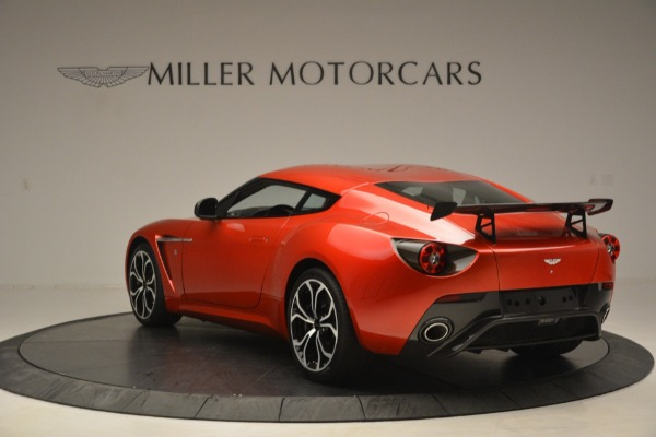 Used 2013 Aston Martin V12 Zagato Coupe for sale Call for price at Bentley Greenwich in Greenwich CT 06830 4