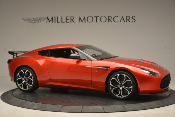 Used 2013 Aston Martin V12 Zagato Coupe for sale Call for price at Bentley Greenwich in Greenwich CT 06830 9