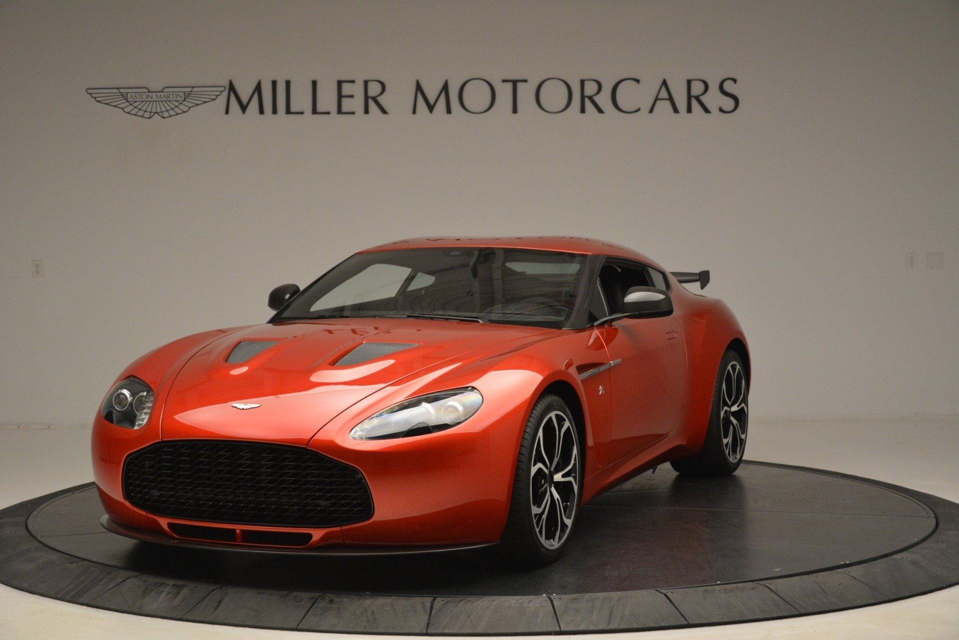 Used 2013 Aston Martin V12 Zagato Coupe for sale Call for price at Bentley Greenwich in Greenwich CT 06830 1
