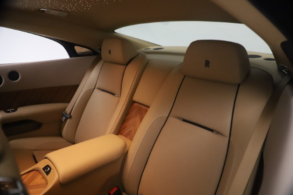 Used 2015 Rolls-Royce Wraith for sale $199,900 at Bentley Greenwich in Greenwich CT 06830 22