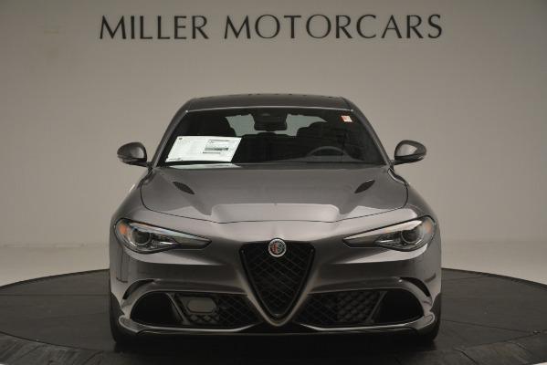 New 2019 Alfa Romeo Giulia Quadrifoglio for sale $79,340 at Bentley Greenwich in Greenwich CT 06830 12