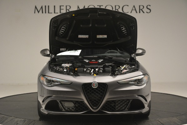 New 2019 Alfa Romeo Giulia Quadrifoglio for sale $79,340 at Bentley Greenwich in Greenwich CT 06830 13