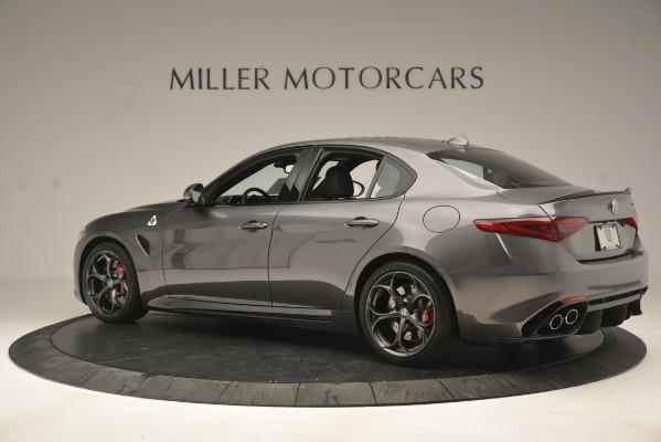 New 2019 Alfa Romeo Giulia Quadrifoglio for sale $79,340 at Bentley Greenwich in Greenwich CT 06830 4