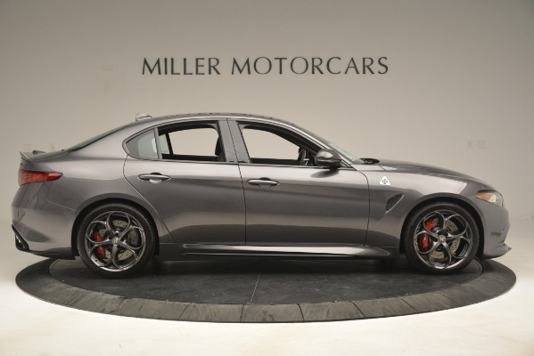 New 2019 Alfa Romeo Giulia Quadrifoglio for sale $79,340 at Bentley Greenwich in Greenwich CT 06830 9