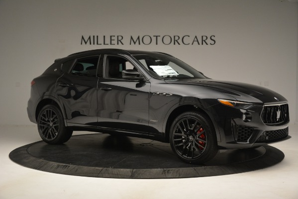 New 2019 Maserati Levante SQ4 GranSport Nerissimo for sale Sold at Bentley Greenwich in Greenwich CT 06830 10