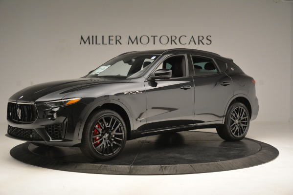 New 2019 Maserati Levante SQ4 GranSport Nerissimo for sale Sold at Bentley Greenwich in Greenwich CT 06830 2