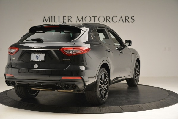 New 2019 Maserati Levante SQ4 GranSport Nerissimo for sale Sold at Bentley Greenwich in Greenwich CT 06830 7