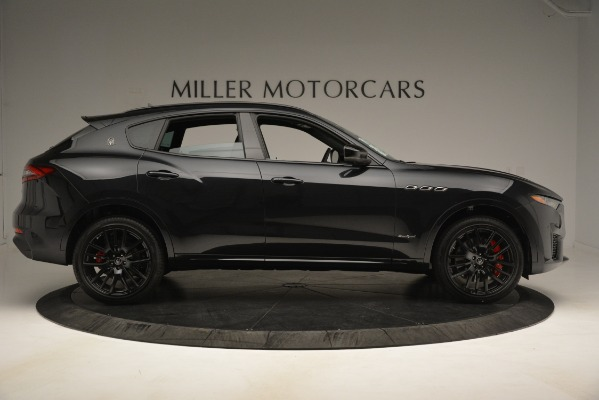 New 2019 Maserati Levante SQ4 GranSport Nerissimo for sale Sold at Bentley Greenwich in Greenwich CT 06830 9