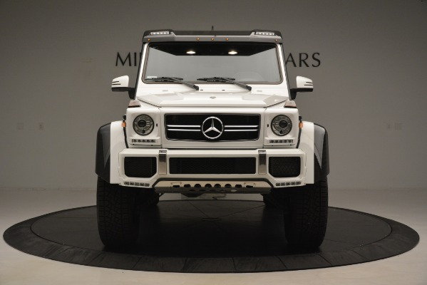 Used 2018 Mercedes-Benz G-Class G 550 4x4 Squared for sale Sold at Bentley Greenwich in Greenwich CT 06830 12