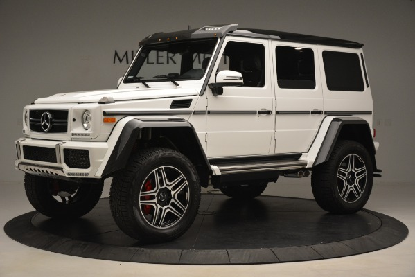 Used 2018 Mercedes-Benz G-Class G 550 4x4 Squared for sale Sold at Bentley Greenwich in Greenwich CT 06830 2