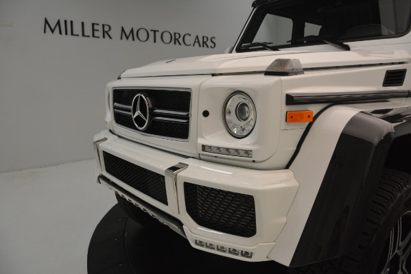Used 2018 Mercedes-Benz G-Class G 550 4x4 Squared for sale Sold at Bentley Greenwich in Greenwich CT 06830 23