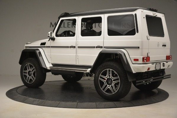 Used 2018 Mercedes-Benz G-Class G 550 4x4 Squared for sale Sold at Bentley Greenwich in Greenwich CT 06830 4